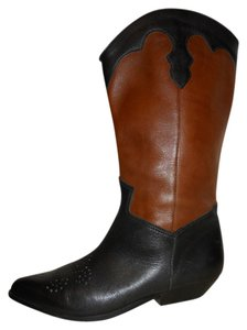 Mister Shoes by Markon Leather Mbc black & brown Boots