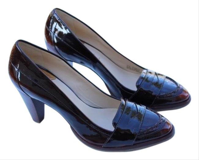 Item - Burnished Brown Loafer Pumps Size US 8 Narrow (Aa, N)