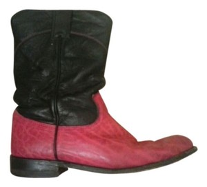 justin pink Boots