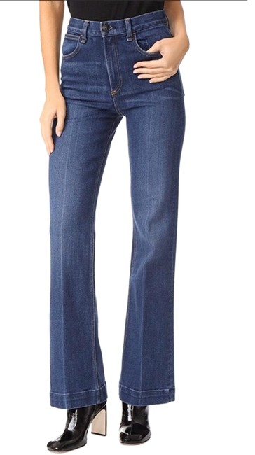 Item - Justine Highwater Trouser/Wide Leg Jeans Size 2 (XS, 26)