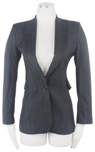 CoSTUME NATIONAL Italy Work Career Professional Herringbone Blazer