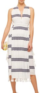 Blue and White Maxi Dress by APIECE APART