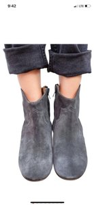 Isabel Marant Winter Fall Washed Black Boots