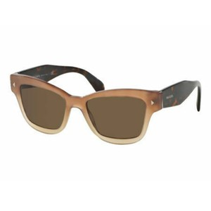 Prada Brown Lens PR29RS UBI8C1 51 Women's Square Sunglasses