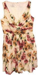 Suzi Chin for Maggy Boutique Silk Sleevless Dress