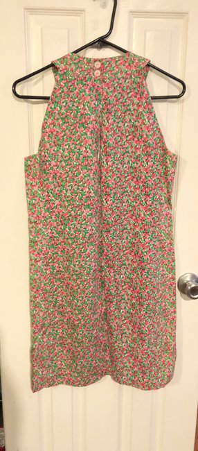 Lilly Pulitzer short dress White/Pink with florals Sleeveless on Tradesy Image 1