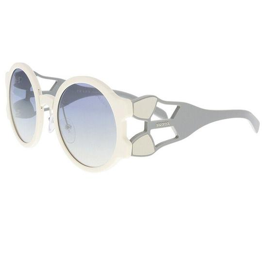 Preload https://img-static.tradesy.com/item/26206977/prada-ivory-grey-light-blue-silver-women-gradient-pr13us-yeb5r0-54-round-sunglasses-0-0-540-540.jpg