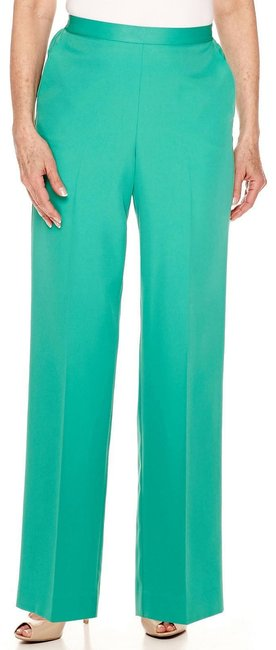 Preload https://img-static.tradesy.com/item/26206978/alfred-dunner-green-classic-stretch-pants-size-14-l-34-0-1-650-650.jpg