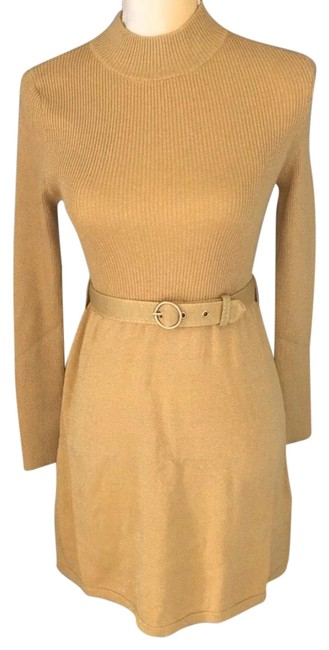 Preload https://img-static.tradesy.com/item/26206994/free-people-gold-frenchgirl-sweater-small-mid-length-short-casual-dress-size-4-s-0-1-650-650.jpg