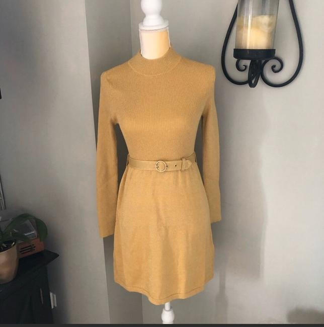 Free People short dress Gold on Tradesy Image 1