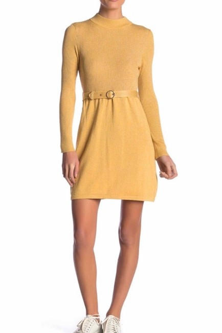 Free People short dress Gold on Tradesy Image 2