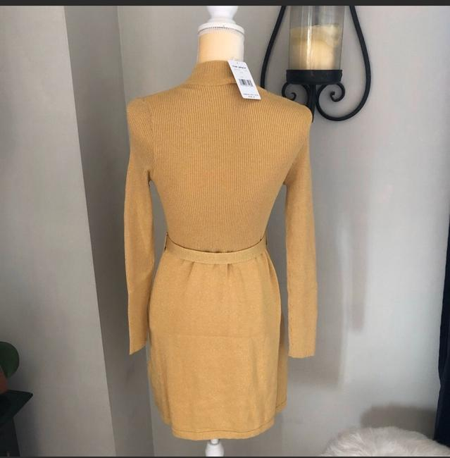 Free People short dress Gold on Tradesy Image 5