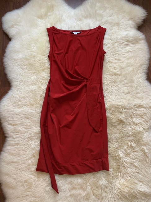 Diane von Furstenberg short dress Red on Tradesy Image 1