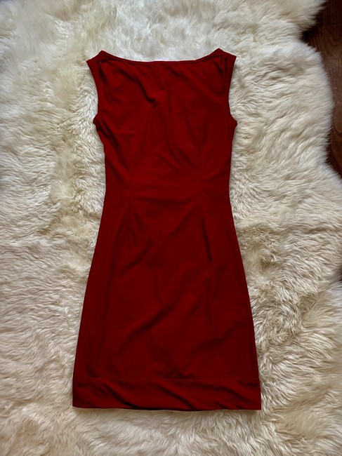 Diane von Furstenberg short dress Red on Tradesy Image 3