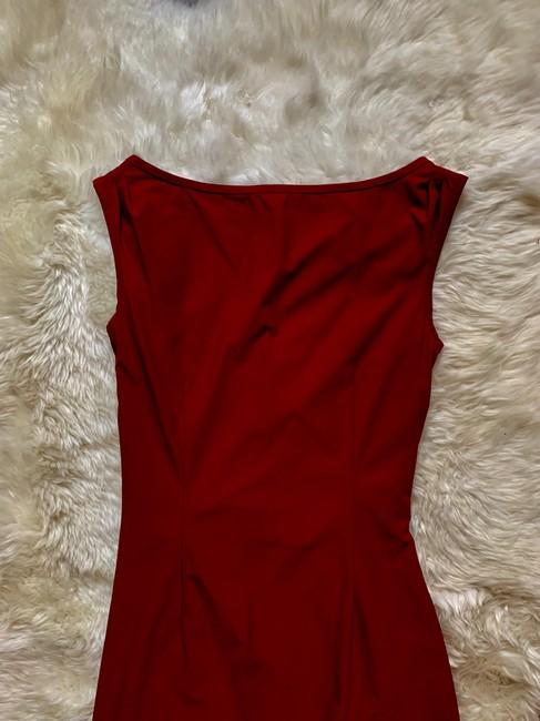 Diane von Furstenberg short dress Red on Tradesy Image 4