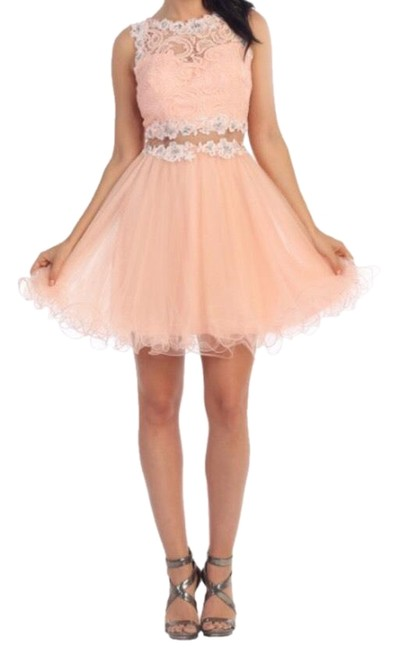 Preload https://img-static.tradesy.com/item/26207192/dancing-queen-dresses-light-coral-9080-mid-length-cocktail-dress-size-22-plus-2x-0-2-650-650.jpg