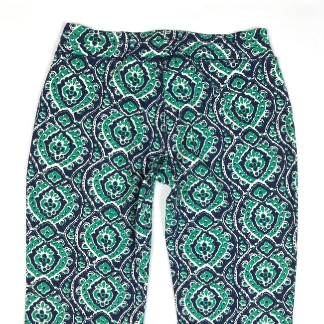 Lucky Brand Ikat Print Drawstring Lounge Relaxed Pants Blue/Green/White Image 7