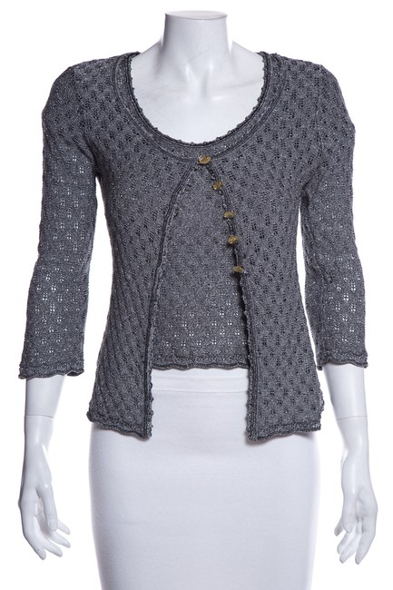 Preload https://img-static.tradesy.com/item/26207428/christian-lacroix-knit-gray-sweater-0-0-650-650.jpg