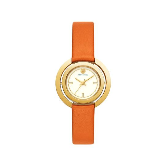 Tory Burch Women's Grier Leather Watch, Jewelry inspired TBW5305 Image 2