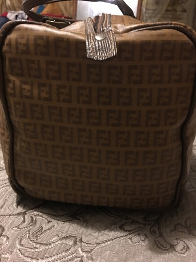 Fendi Brown Travel Bag Image 10