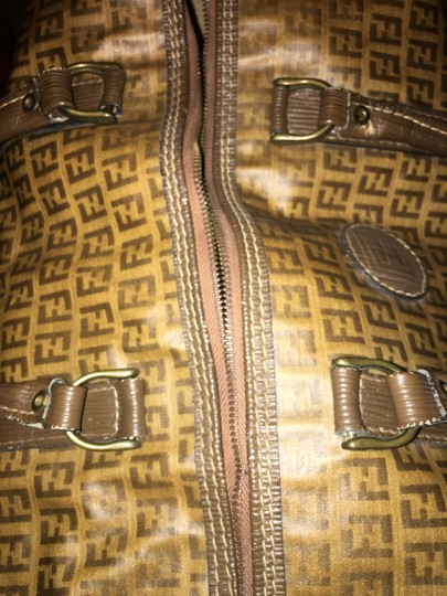 Fendi Brown Travel Bag Image 3