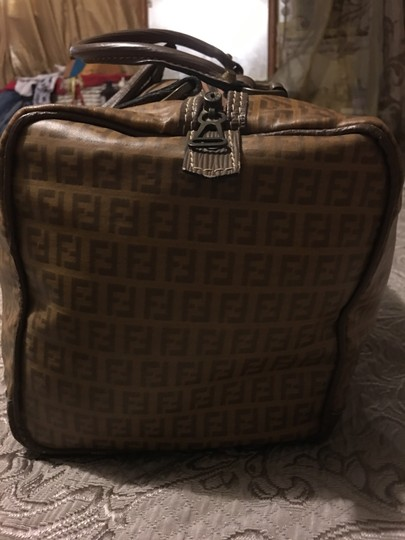 Fendi Brown Travel Bag Image 6
