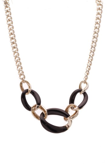 Alexis Bittar Alexis Bittar Lucite Large Link Necklace - Gold Image 1