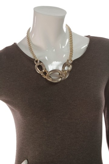 Alexis Bittar Alexis Bittar Lucite Large Link Necklace - Gold Image 4