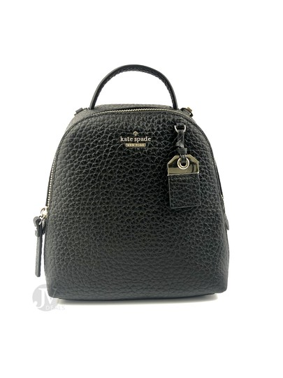 Preload https://img-static.tradesy.com/item/26207662/kate-spade-women-s-new-york-carter-mini-caden-black-leather-backpack-0-0-540-540.jpg