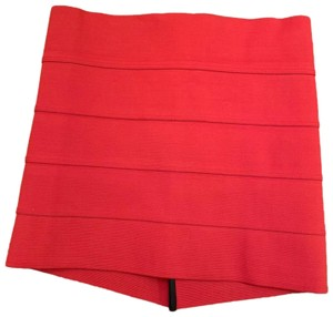 Pleasure Doing Business Night Out Mini Skirt Red