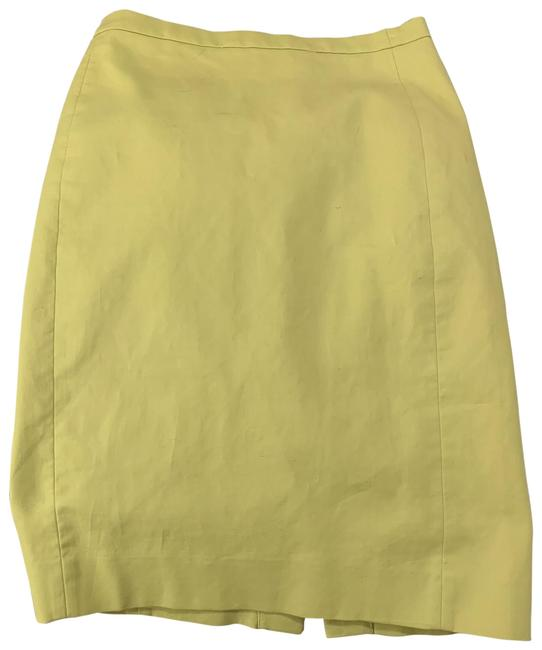 Item - Chartreuse No. 2 Pencil Skirt Size 0 (XS, 25)