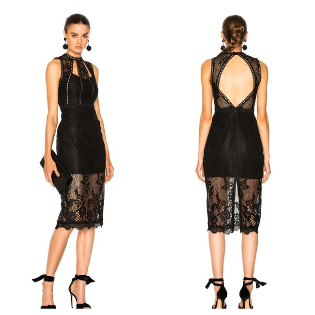 Preload https://img-static.tradesy.com/item/26208043/alexis-black-oralie-sheath-mid-length-cocktail-dress-size-8-m-0-0-650-650.jpg