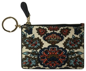 Coach COACH MINI SKINNY ID CASE W/ FOREST FLOWER PRINT