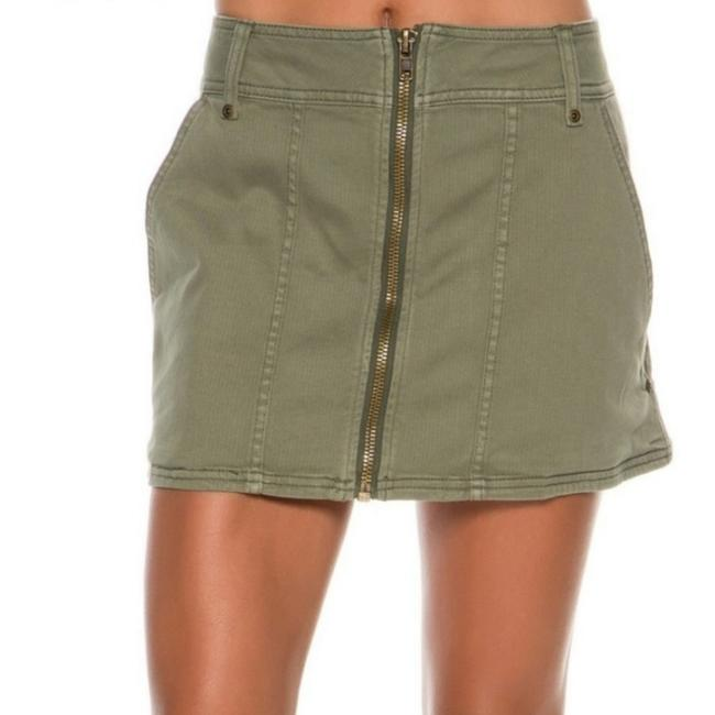 Item - Olive Green Military Skirt Size 2 (XS, 26)