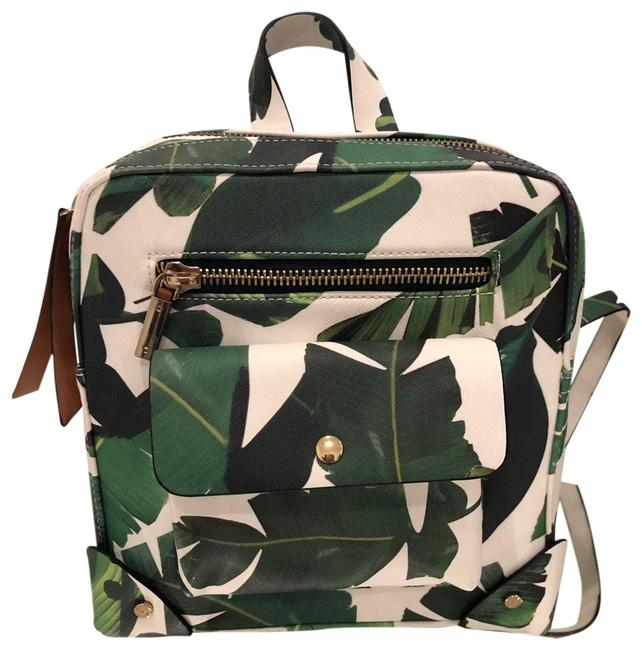 Item - Green/White Backpack