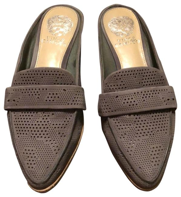 Item - Charcoal Grey Mules/Slides Size US 6 Regular (M, B)