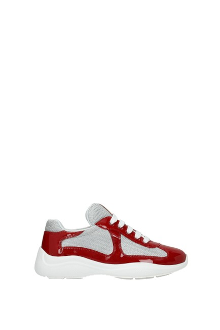 Item - Red Woman Sneakers Size EU 40 (Approx. US 10) Regular (M, B)