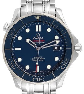 Omega Omega Seamaster 41mm Co-Axial Blue Dial Mens Watch 212.30.41.20.03.001