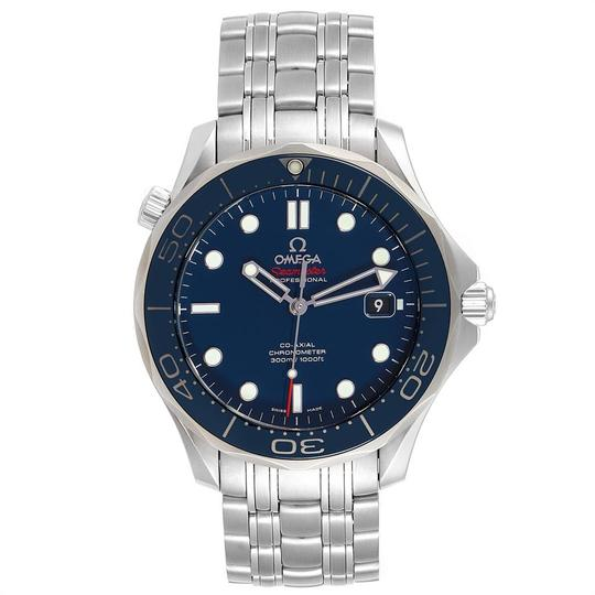 Omega Omega Seamaster 41mm Co-Axial Blue Dial Mens Watch 212.30.41.20.03.001 Image 1
