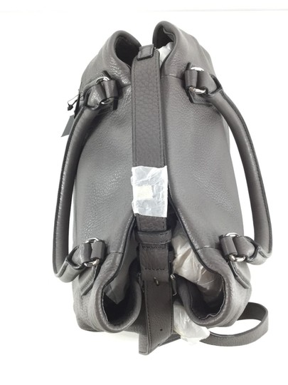 Marc Jacobs Mj Black Italian Leather Purse Tote in FADED ALUMINUM GREY/SILVER Image 7