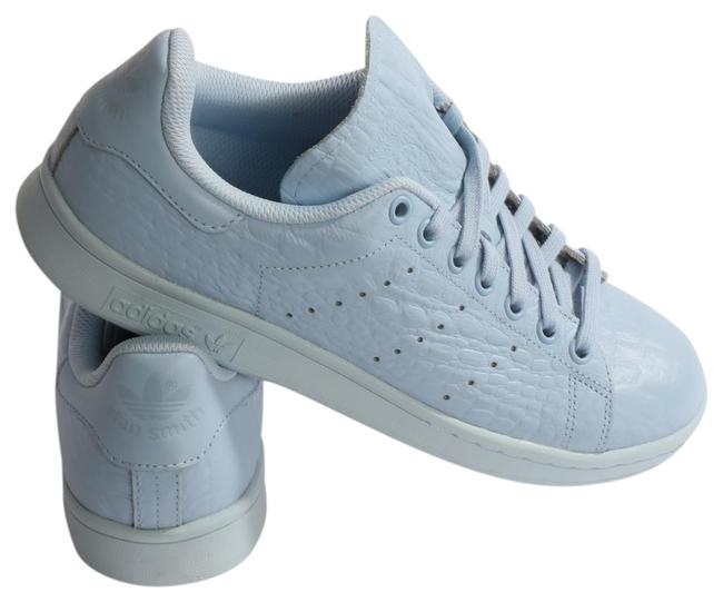 Item - Blue Leather Lace Up Sneakers Size US 8.5 Regular (M, B)