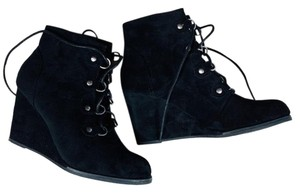 Madden Girl Perfect For Fall Wedge Black Boots