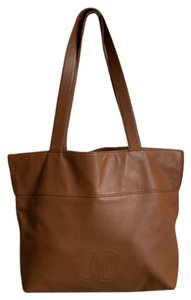 Chanel Tote in Cognac Brown