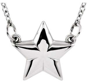 Apples of Gold STERLING SILVER STAR NECKLACE