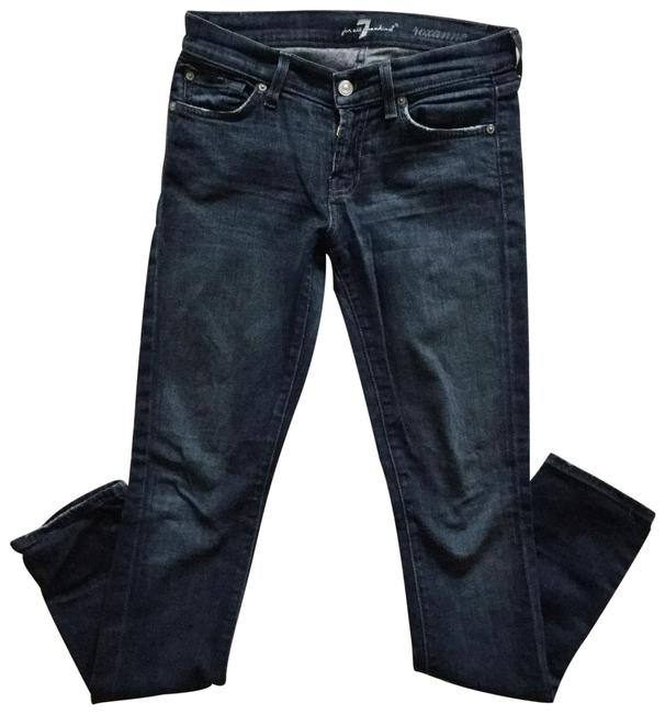 Item - Blue Distressed Roxanne Skinny Jeans Size 0 (XS, 25)