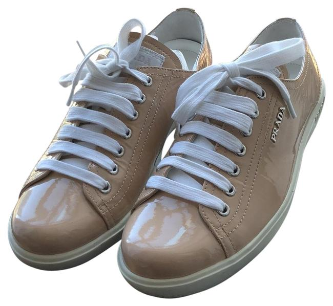 Item - Light Pink Leather Sneakers Size EU 38.5 (Approx. US 8.5) Regular (M, B)