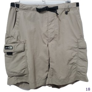 REI Upf 30 Belted Cargo Shorts Brown