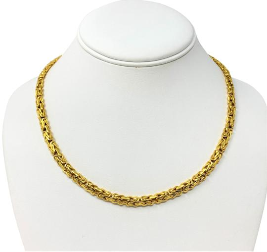 Preload https://img-static.tradesy.com/item/26214134/14k-yellow-gold-55mm-byzantine-link-heavy-215g-chain-italy-necklace-0-1-540-540.jpg
