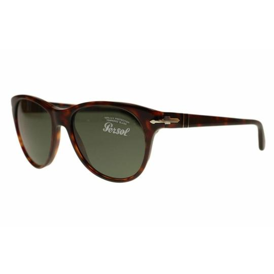 Persol Green Lens Women's Square Sunglasses Image 1