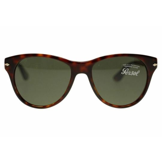 Persol Green Lens Women's Square Sunglasses Image 2